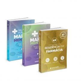 Preparatório para Residência em Farmácia + SUS e Saúde Pública em Mapas Mentais