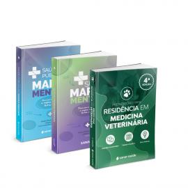 Preparatório para Residência em Medicina Veterinária + SUS e Saúde Pública em Mapas Mentais