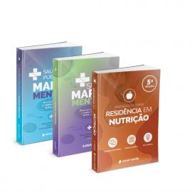 Preparatório para Residência em Nutrição + SUS e Saúde Pública em Mapas Mentais