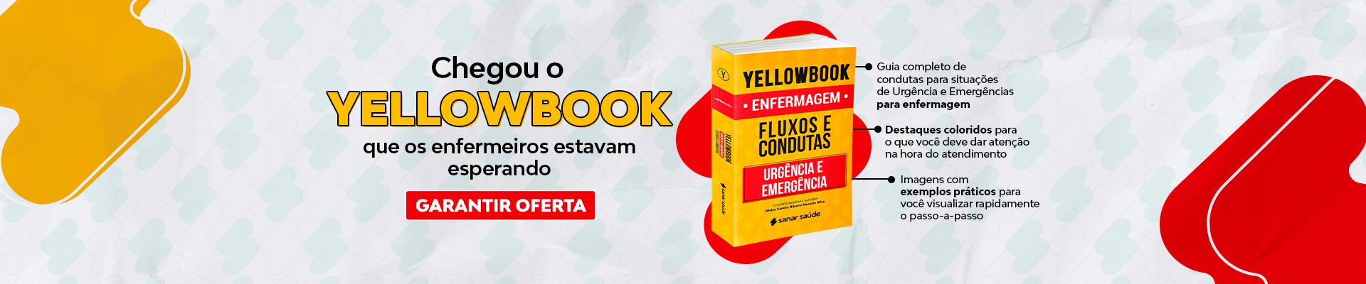 Banner Lançamento Yellowbook Enfermagem